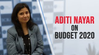 Budget 2020: Expenditure boost rather than tax cut needed to pump prime economy, says Aditi Nayar