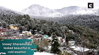 Snowy' Dharamshala looked beautiful in cold weather