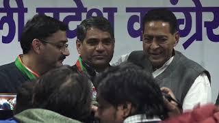 Delhi Assembly Election 2020 | Subhash Chopra addresses media at Delhi Congress HQ