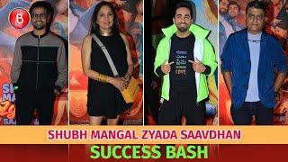 Shubh Mangal Zyada Saavdhan Success Bash | Ayushmann Khurrana | Jitendra Kumar | Neena Gupta