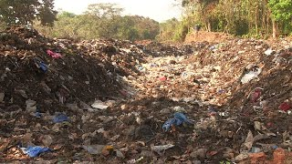 CCP dumps waste at heritage sites in Carambolim, locals protest