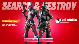 Fortnite Search and Destroy Creative Challenges - Timer Device, Vending machines, Gold