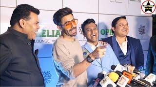 Neha Sharma   Aparshakti Khurana   Dino Morea At The Grand Launch Of Ophelia Lounge In Mumbai