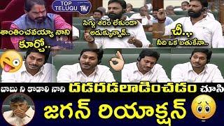 AP CM Jagan Funny Expressions While Minister Kodali Nani Speech   AP Assembly Live   Chandrababu
