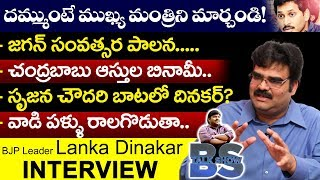 BJP Leader Lanka Dinakar Exclusive Interview | Full Interview | AP Capital | AP Political Interviews