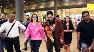 Street Dancer 3D | Shraddha Kapoor And Varun Dhawan Spotted At Mumbai Airport