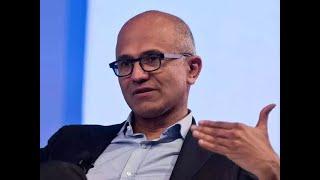 Satya Nadella at WEF: Data privacy must be seen as a human right