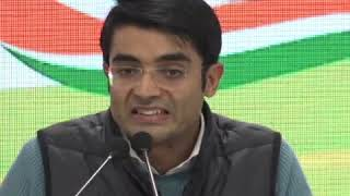 Jaiveer Shergill addresses media at Congress HQ on NPA