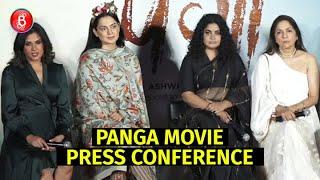 Kangana Ranaut, Jassie Gill & Richa Chadha Opens Up on Panga | Press Conference