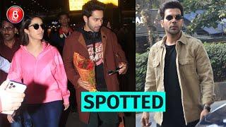 Varun Dhawan, Shraddha Kapoor & Rajkummar Roa Make a Stylish Splash
