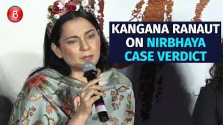 Kangana Ranaut's Angry Reaction on Nirbhaya Case Verdict