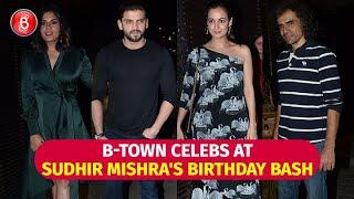 Dia Mirza, Richa Chadha, Jaaved Jaaferi & Others at Sudhir Mishra's Birthday bash
