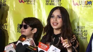 Jannat Zubair with DJ Hardik celebrate her Association with UBON