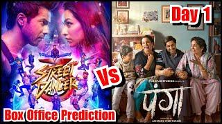 Street Dancer 3 Vs Panga Box Office Prediction Day 1