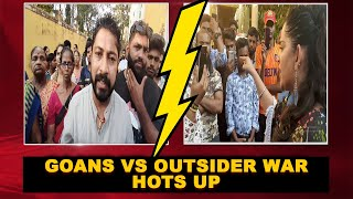 Goans Vs Outsider War Hots Up At Mapusa