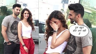 Disha Patani & Aditya Roy Promoting Malang | News Remind
