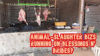WATCH: Verla-Canca Sarpanch Churning Out Illegal Animal-Slaughter Bizs For Healthy Bribe?