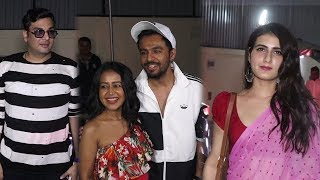 Neha Kakar, Richa Chadda, Fatima Sana Shaikh & Many Celebrities At Panga Movie Screening
