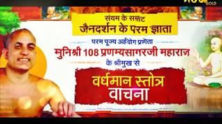 Muni Shri Pranamya Sagar Ji Maharaj,Vardhman Stotra Ep-40|श्री प्रणम्य सागरजी महाराज,वर्धमान स्तोत्र