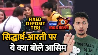 Bigg Boss 13 | Asim Riaz CALLS Aarti Fixed Deposit Of Sidharth | BB 13 Episode Preview