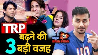 Bigg Boss 13 TRP Breaks Record Because Of These Contestants | BB 13 Latest Video