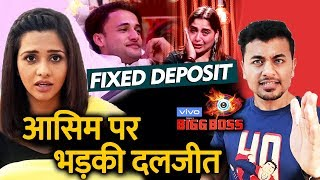 Bigg Boss 13 | Daljiet Kaur BASHES Asim Riaz For Calling Arti Fixed Deposit Of Sidharth | BB 13