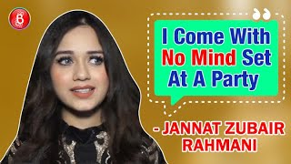 Tik Tok Superstar Jannat Zubair Rahmani's Honest Take On Partying All Night