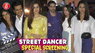 Varun Dhawan, Shraddha Kapoor, Riteish Deshmukh, Rakul Preet Singh Attend Street Dancer 3D Screening
