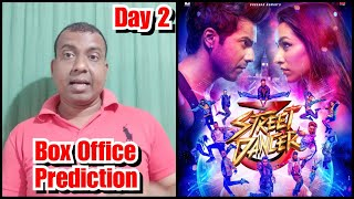 Street Dancer 3 Box Office Prediction Day 2