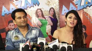 Hindi Film Pagleaazam Media Interaction with Producer Aditya Pratap Singh & Starcast