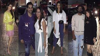 Special Screening Of Movie Street Dancer | Varun Dhwan | Neha Sharma | Ritesh | News Remind