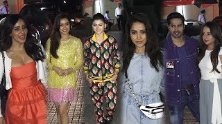 Shraddha kapoor, Neha sharma, Urvashi Rautela & Many Celebs Attend Street Dancer Screening