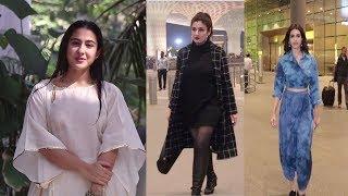 Sara Ali Khan, Jacqueline, Raveena Tandon Spotted | News Remind