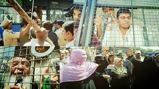 A Big Protest Baad Namaz E Jumma By DJS   DJS Leaders Got Arrested   At Saidabad   @ SACH NEWS  
