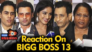 Celebs Reaction On Bigg Boss 13 | Sidharth, Asim, Shehnaz, Rashmi | BB 13 Video