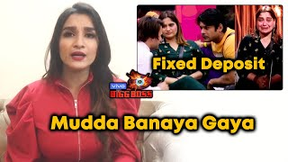 Exclusive: Shefali Bagga Reaction On FIXED DEPOSIT Comment By Asim On Arti | Sidharth Shukla | BB 13