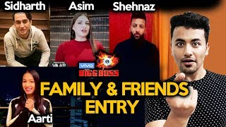Bigg Boss 13 | Family And Friends ENTRY | Vikas Gupta, Himanshi, Shehbaz, Kashmeera | BB 13 Video