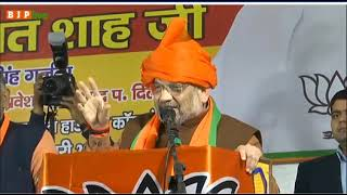 दिल्ली की जनता नई सरकार तय करने वाली है: श्री अमित शाह, मटियाला