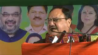 Shri JP Nadda addresses public meeting in Patel Nagar, Delhi
