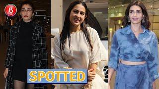 Sara Ali Khan, Jacqueline Fernandez & Raveena Tandon Make Splash in Town