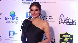 Shraddha Arya Full Exclusive Interview - 26th SOL Lions Gold Awards 2020