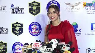 Gogeous Saiee Manjrekar Full Exclusive Interview - 26th SOL Lions Gold Awards 2020
