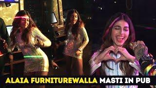 Alaia Furniturewalla Masti In Pub For Jawaani Jaaneman Movie Promotions