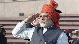 PM Modi pays homage at National War Memorial on the 71st Republic Day in New Delhi | PMO