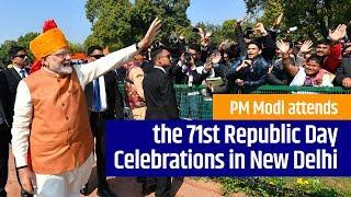 PM Modi attends the 71st Republic Day Celebrations in New Delhi | PMO