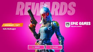 CLAIM FORTNITE FREE REWARD ZADIE SKIN CHALLENGES