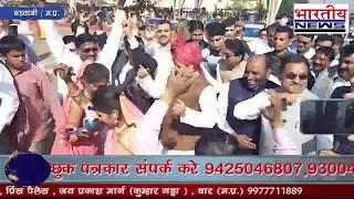 मांदल की थाप पर जमकर नाचे गृहमंत्री बाला बच्चन,Home Minister Bala Bachchan fiercely on Mandal's beat