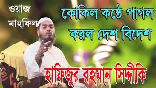 Hafijur Rahman Siddiki Bangla Waz Mahfil | New Bangla Waz 2020 | Bangla Islamic Lecture