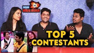 Bigg Boss 13 | TOP 5 Contestants | FINALISTS | Bigg Charcha | BB 13 Video