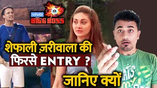 Bigg Boss 13 | EVICTED Shefali Zariwala To Enter Again In The House; Here Why? | BB 13 Video